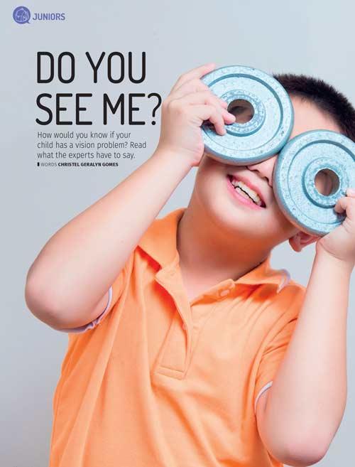 eye specialist media articles - Motherhood July 2017