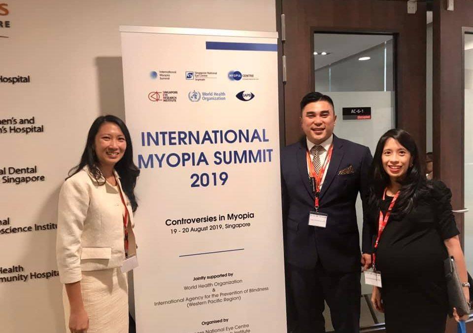 Dr Cheryl Ngo at International Myopia Summit